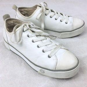UGG Leather Platform Sneakers